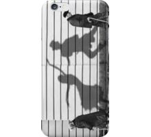 Elderly Dancing Silhouette iPhone Case/Skin