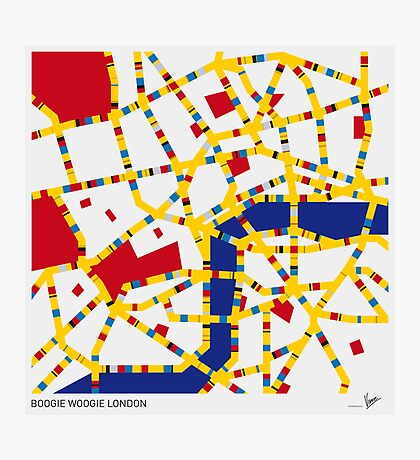 BOOGIE WOOGIE LONDON Photographic Print