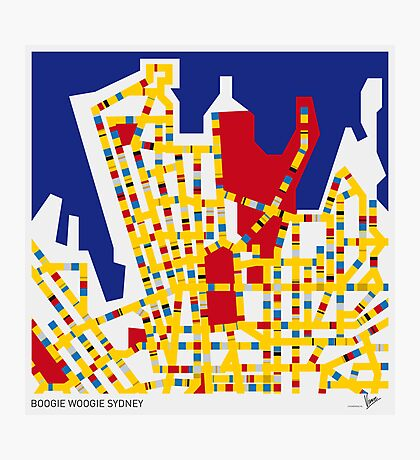 BOOGIE WOOGIE SYDNEY Photographic Print