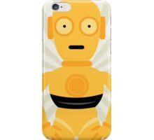 C3PO Star Wars Neutral Art iPhone Case/Skin