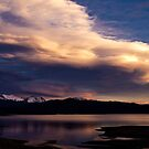 Last Light at Shadow Mountain Lake by JRRouse