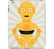 C3PO Star Wars Neutral Art iPad Case/Skin