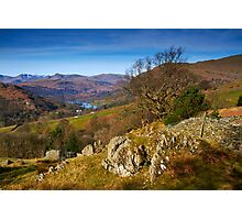 Across to Rydal Water Photographic Print
