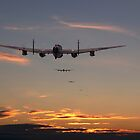 Lancaster - At the going down of the sun.......... by warbirds