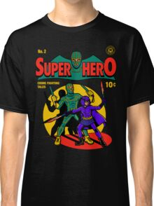 Superhero Comic Classic T-Shirt