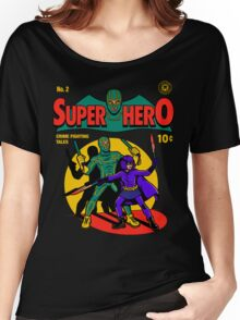 Superhero Comic Women's Relaxed Fit T-Shirt