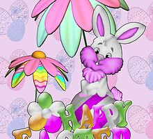 Happy Easter Bunny by LoneAngel