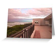 A Sea View Greeting Card