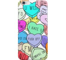 HATE HEARTS iPhone Case/Skin