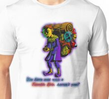 Happy Mask Salesman Unisex T-Shirt