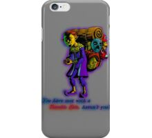 Happy Mask Salesman iPhone Case/Skin