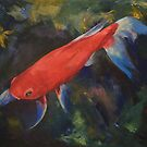 Haiku Koi Fish by Michael Creese