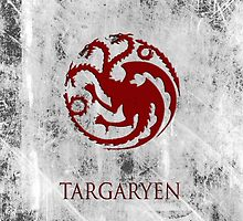 Targaryen 02 [Phone Case] by Ilcho Trajkovski