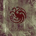 Targaryen 03 [Phone Case] by Ilcho Trajkovski