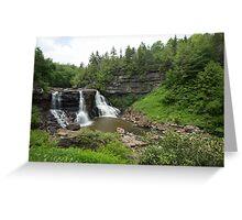 Blackwater Falls, West Virginia Greeting Card