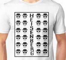 Heisenburg Multiple Faces Unisex T-Shirt