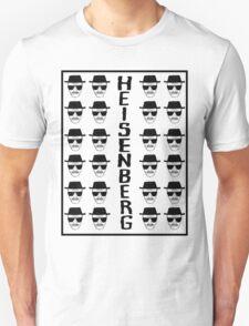 Heisenburg Multiple Faces T-Shirt