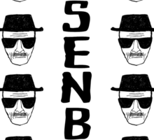 Heisenburg Multiple Faces Sticker
