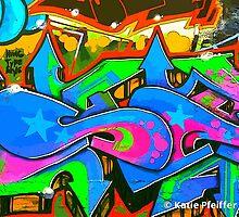 Graffiti Wall #2 by Kater