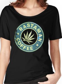 RASTAMAN COFFEE VINTAGE  Women's Relaxed Fit T-Shirt