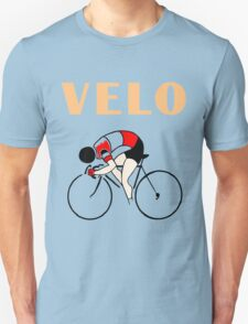 Retro art deco design cycling velo sprint T-Shirt