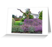 A Spring Garden Greeting Card