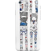 mr and mrs tatts iPhone Case/Skin
