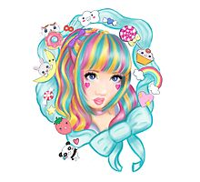 Kawaii princess Photographic Print