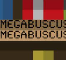 Megabuscus bookshelf Sticker