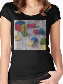 Lego my Ernő Women's Fitted Scoop T-Shirt