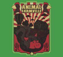 Animal FarmVille Baby Tee
