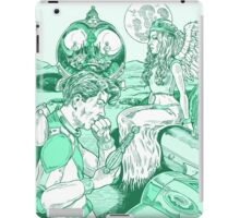 Spaceman and Angel iPad Case/Skin