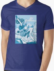 Pulp hero Mens V-Neck T-Shirt