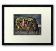 The horse of Mr. Röntgen Framed Print