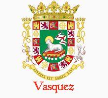 Vazquez Shield of Puerto Rico Unisex T-Shirt