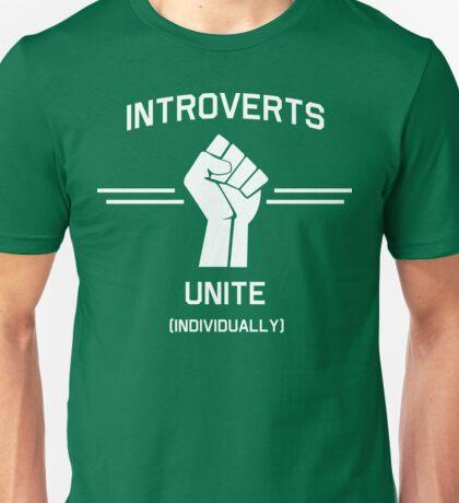 Introverts Unite Individually Unisex T-Shirt
