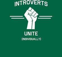 Introverts Unite Individually T-Shirt