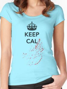 Keep Cal Bloody Women's Fitted Scoop T-Shirt