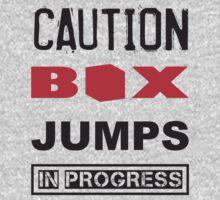 Caution Box Jumps In Progress Baby Tee