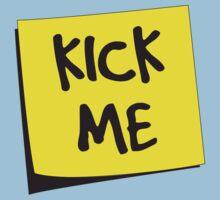 Kick Me Post-It by wondrous