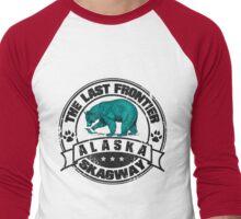 Skagway Alaska Bear Men's Baseball ¾ T-Shirt