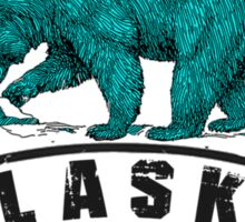 Skagway Alaska Bear Sticker