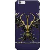 Black Gothic Bat Guitar iPhone Case/Skin