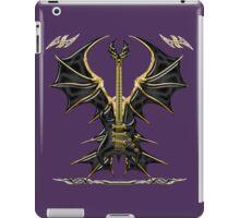 Black Gothic Bat Guitar iPad Case/Skin