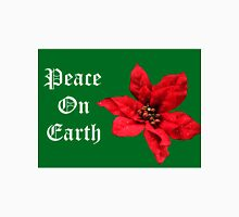 Peace On Earth, Goodwill To All Womens Fitted T-Shirt