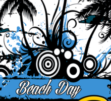 Bora Bora Beach Day Sticker