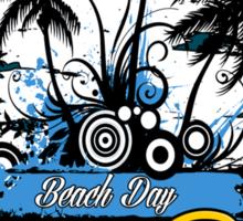 Bora Bora Beach Day Sticker