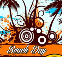 Party Land In Bora Bora Sticker