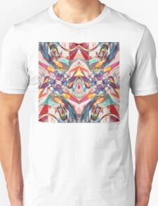 Abstract Color Mix Unisex T-Shirt
