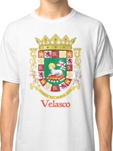 Velasco Shield of Puerto Rico Classic T-Shirt